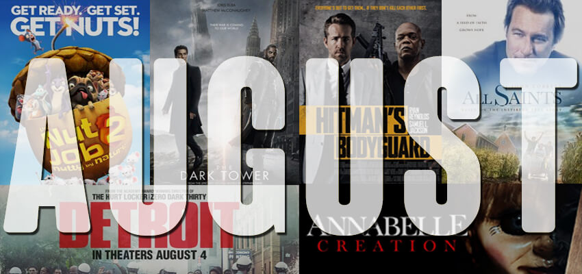 Upcoming Movies This August