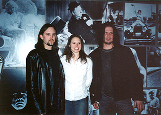 Members of the band Disturbed