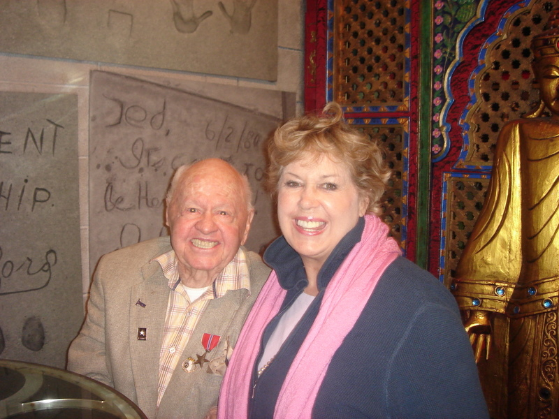 Mickey Rooney and his wife Jan Chamberlin Rooney