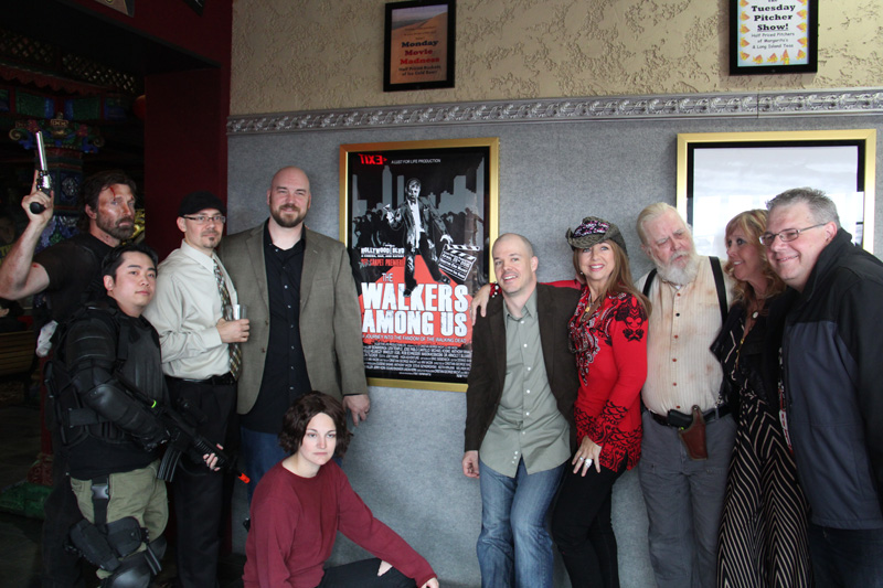 """Film makers and stars of """"The Walkers Among Us"""""""