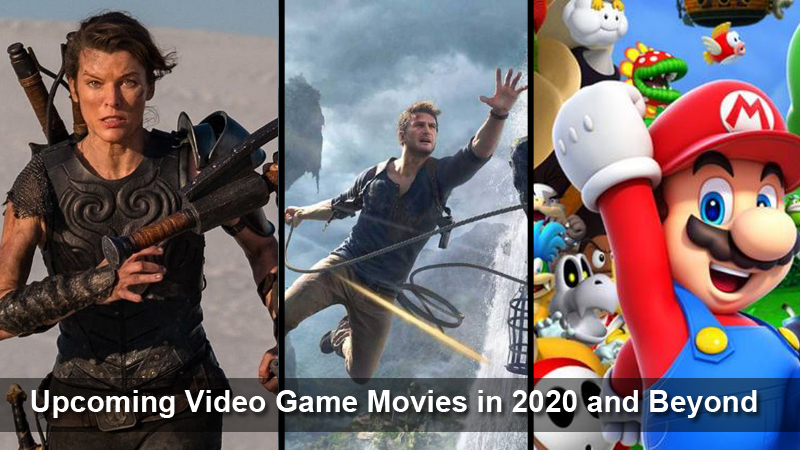 Upcoming Video Game Movies in 2020 and Beyond